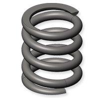 left handed spring helix